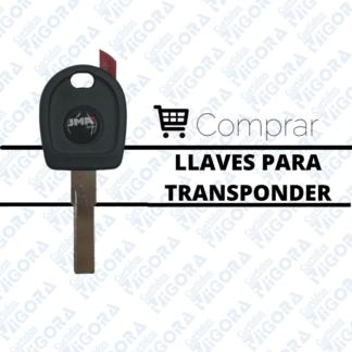 Llaves para transponder